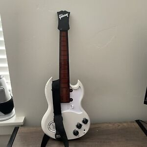 Gibson Power Tour Tiger Electronics White Electric Guitar - Tested & Working