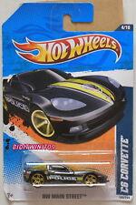Hot Wheels 2011 Hw Main Street C6 Corvette Black