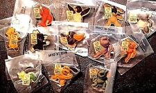 retired OFFICIAL TY BEANIE BABY CLOISONNE SOUVENIR 12 PIN BADGE SET USA