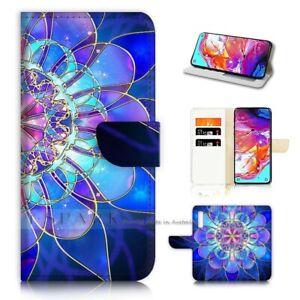 ( For Telstra Evoke Plus ) Wallet Flip Case Cover AJ40387 Abstract Flower
