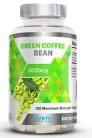 GREEN COFFEE BEAN 6,000mg,Max Strength SLIMMING Diet WEIGHT LOSS-50% CGA