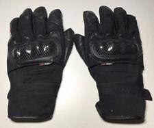 Furygan Motorcycle Waterproof Leather Textile Ocelot Mixed Gloves - Black