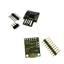 2pcs BOTH TYPES Digispark Mini ATTINY85 USB Development Micro Board Arduino IDE