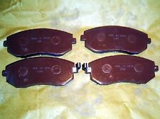 Brake pads, front for Subaru Forester Impreza Legacy Outback, 2002-, 4 pad set
