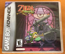 The Legend of Zelda The Minish Cap Nintendo Game Boy Advance 2004 GBA repro Link