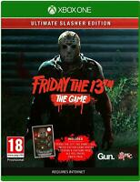 Friday The 13th The Game Ultimate Slasher Edition Xbox One **FREE UK POSTAGE!!**
