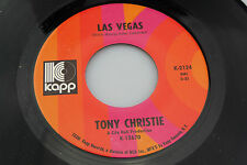 Tony Christie: Las Vegas / Let Me Be Turned to Stone  [Unplayed Copy]
