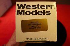 1/43 WESTERN MODELS 1927 SUNBEAM 1000HP RECORD CAR 1927
