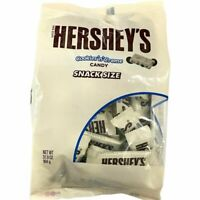 Hershey's Cookies n Creme Candy Bar Snack Size Pack 900g Delicious Chocolate USA