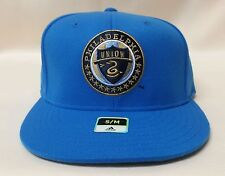 OFFICIAL ADIDAS MLS PHILADELPHIA UNION SOCCER CAP FITTED S/M MED. BLUE