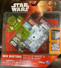 Star Wars Box Buster Battle of Naboo & Battle of Hoth Game New In Box