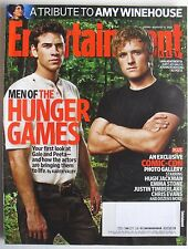 LIAM HEMSWORTH & JOSH HUTCHERSON HUNGER GAMES Aug. 5, 2011 ENTERTAINMENT WEEKLY