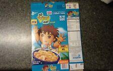 Go Diego Go large cereal box broken down Nickelodeon cartoon General Mills 18oz