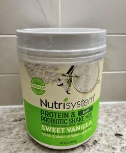 NUTRISYSTEM Protein & Probiotic Shake Sweet Vanilla Shake Mix