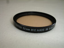 Tiffen 52mm 81C -  Light Balancing filter