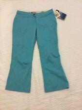 COLUMBIA Women's Vertex Teal Zip up PANTS (size 6) NWT