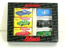 Schuco Piccolo Geschenkset 01235 Mercedes-Benz 190SL,Porsche 356, Käfer,neu