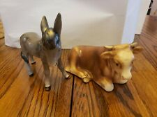 Vintage 1950s Hummel Nativity Figurines with full bee mark
