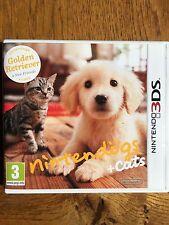Nintendogs + Cats Golden Retriever (unsealed) - 3DS New!