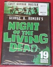 Night of the Living Dead & 19 Bonus Movies (Dvd, 2017) Sealed! Free Shipping!