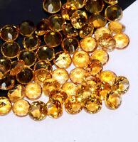 Details about  /GTL CERTIFIED 25 Pcs Lot Natural Crystal Quartz 15mm Round Cut Gemstone Z11