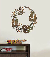 Bittersweet Curl Wall Stencil - SMALL - Wall Stencils for Easy DIY Home Decor