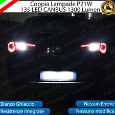 COPPIA LAMPADE RETROMARCIA P21W LED CANBUS ALFA ROMEO GIULIETTA 6000K NO ERRORE
