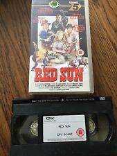 Red Sun VHS Cassette Tape