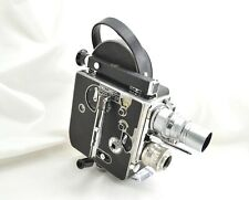 *EXC++++* BOLEX H16 Movie Film Camera + Som Berthiot 3 Lens set From Japan M283