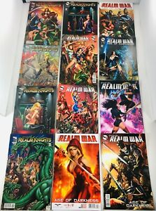 19 GRIMM FAIRY TALES REALM KNIGHTS #1-4 COMPLETE SET + AGE DARKNESS #1-12 + MORE