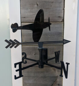 The Legendary Spitfire Acrylic Garden Weather Vane Wall, Pole or Post Mounted