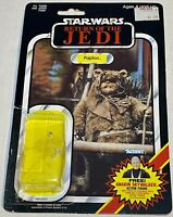 Vintage 1984 Star Wars ROTJ Paploo 79 Cardback attached Bubble Kenner Mexico