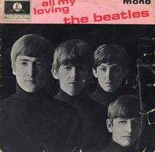 "THE BEATLES ~All My Loving EP ~1964 UK second pressing 4-track mono 7"" vinyl EP"