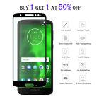 Full Cover Tempered Glass Screen Protector For Motorola MOTO E5 G7 Z4 Plus Play
