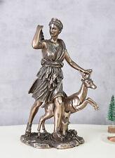antike Göttin Diana Artemis & Hirsch Jägerin Figur
