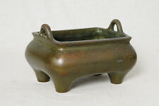 Chinese  Bronze  Incense  Burner  With  Mark      M2690