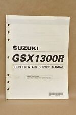 2001 Suzuki Hayabusa GSX1300 R K1 Supplementary Supplement Service Manual