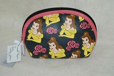 Disney Beauty and the Beast Belle Cosmetic Makeup Bag Nwt