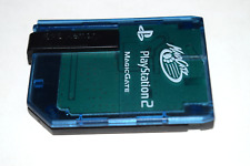 Memory Card 8MB MagicGate Blue MadCatz for Playstation 2 PS2 Console Game System
