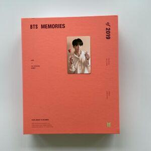 BTS - Bangtan Boys Memories of 2019 + Jungkook Photo Card Official