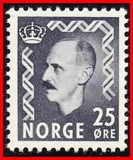 NORWAY 1951 KING HAAKON VII SC#322 MNH (key VALUE)  CV$25.00++