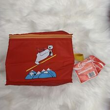 Coca Cola | Vintage Insulated Six Pack Carrier Cooler | Skying Polar Bear