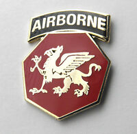 108TH AIRBORNE DIVISION US ARMY LAPEL PIN BADGE 1 INCH