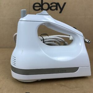 Kitchenaid Classic White Hand Mixer Model KHM5APWH7 5 Speed - No Beaters 2.K1