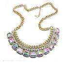 NEW Fashion Luxury Necklace Collar Vintage Gothic Statement Collarbone Crystal S
