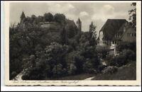 Veste Coburg Bayern Postkarte ~1920/30 mit Gasthaus zum Festungshof ungelaufen