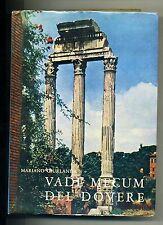 Mariano Giurlanda#VADE MECUM DEL DOVERE#Arti Grafiche Bruno Fogar Roma 1968