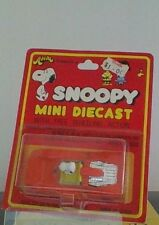 Vintage Peanuts Snoopy Aviva  Mini Die Cast  New In Package