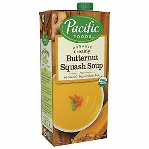 Pacific Foods Organic Creamy Butternut Squash Soup 32oz 12-pack