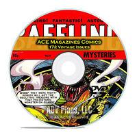 Baffling Mysteries, Beyond, Lightning Comics Hand of Fate Classic Comics DVD C83